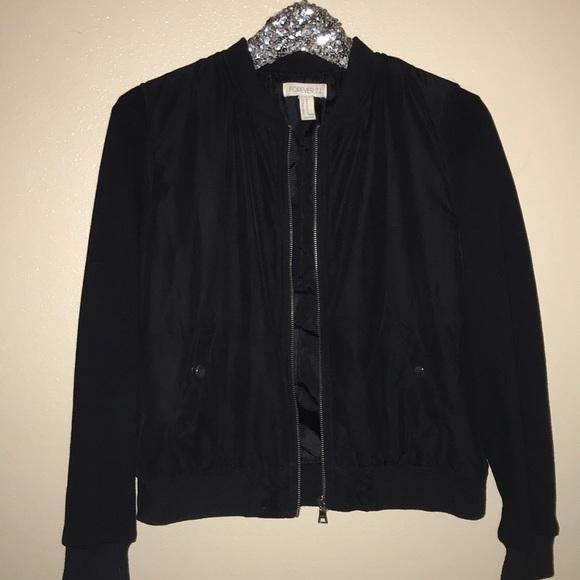 Forever 21 Jackets & Blazers - Black bomber jacket